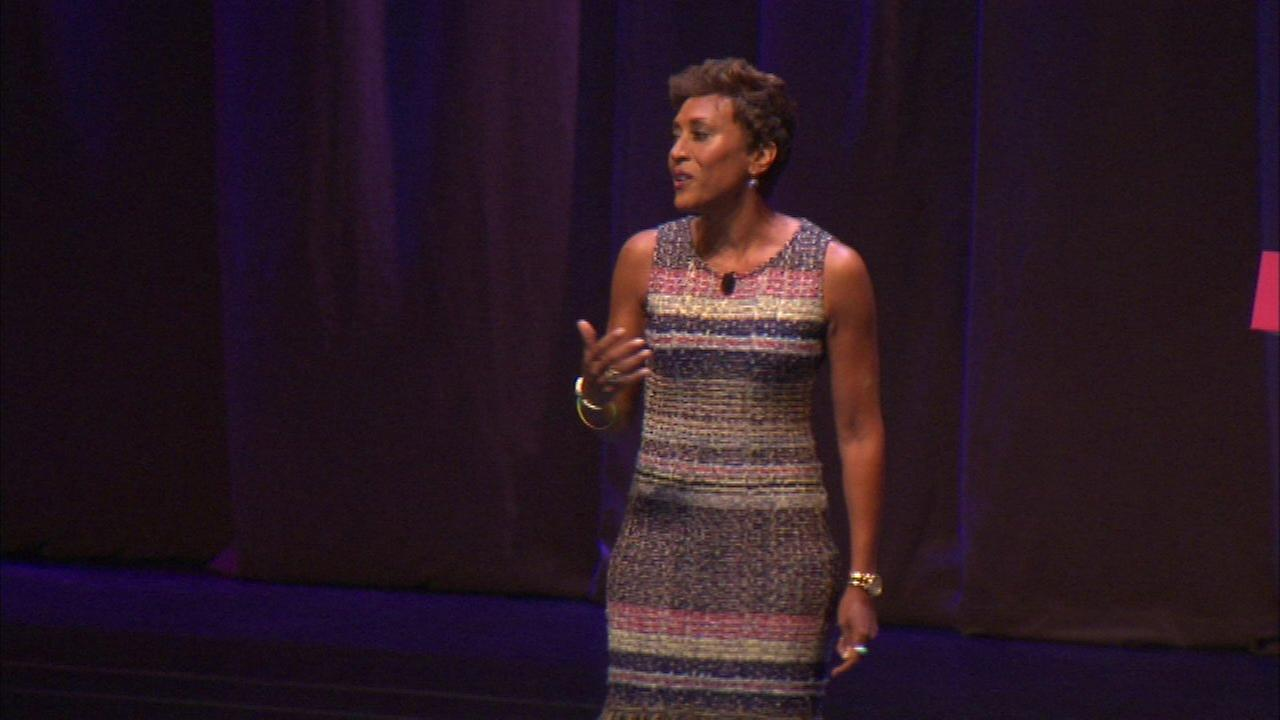 Robin Roberts speaks in Chicago