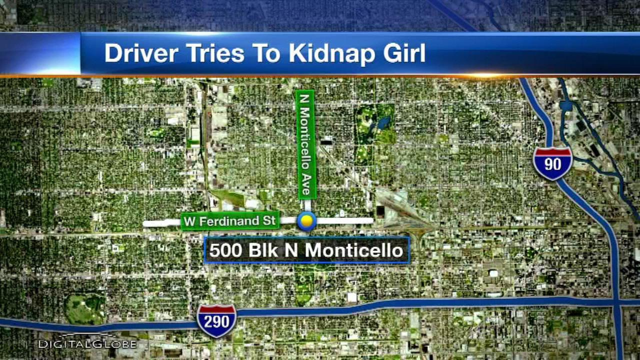 Police issue alert after man tried to lure girl, 12, into minivan on West Side