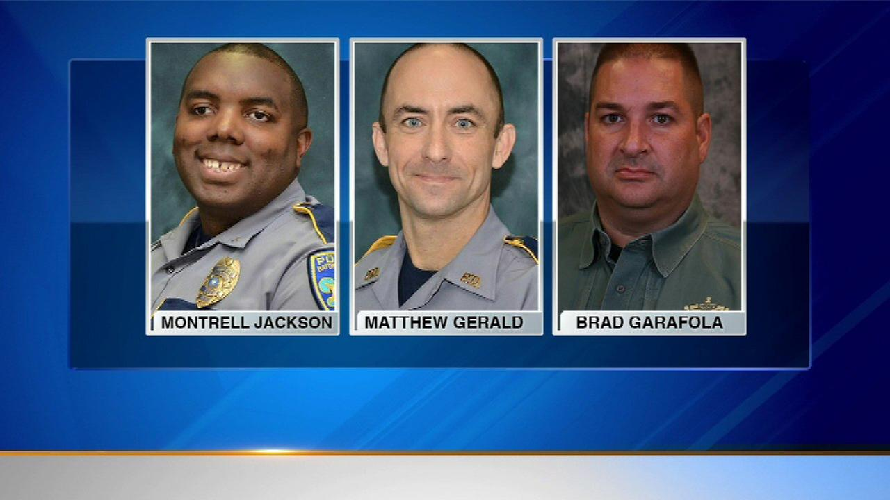 funerals set for 3 baton rouge police officers shot to death