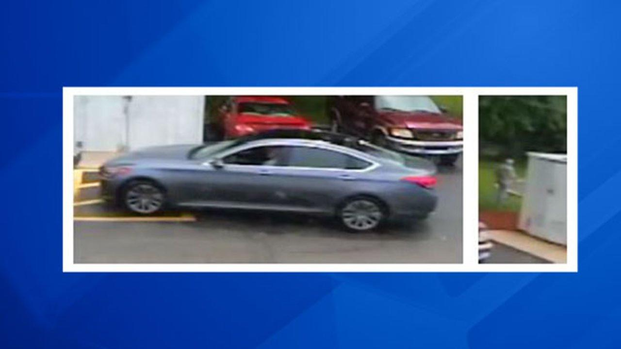 Officials have released these photos of the person of interest and his vehicle.