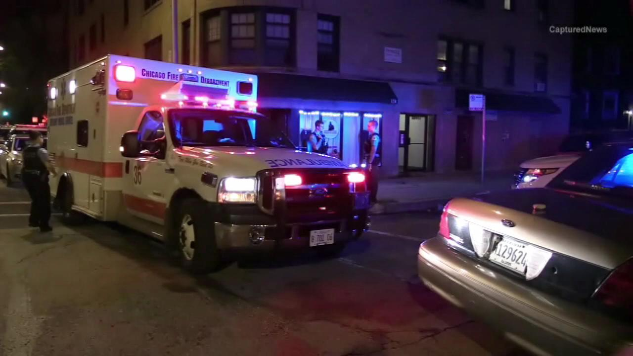 A 14-year-old girl was wounded in a shooting in the Englewood neighborhood Monday morning.