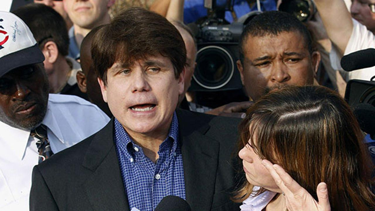 In this March 14, 2012, file photo, former Illinois Gov. Rod Blagojevich speaks to the media outside his home in Chicago.