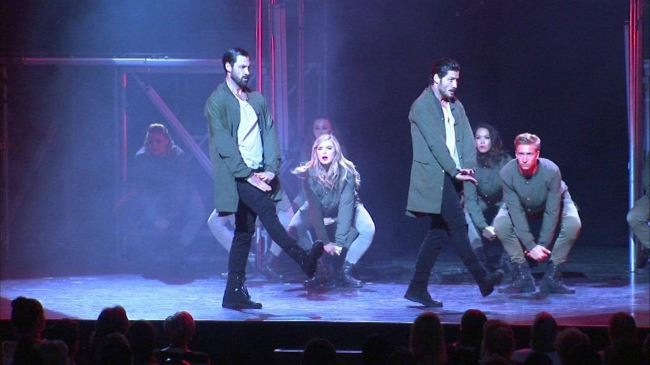 Maks and Val dance through the Chicago Theater