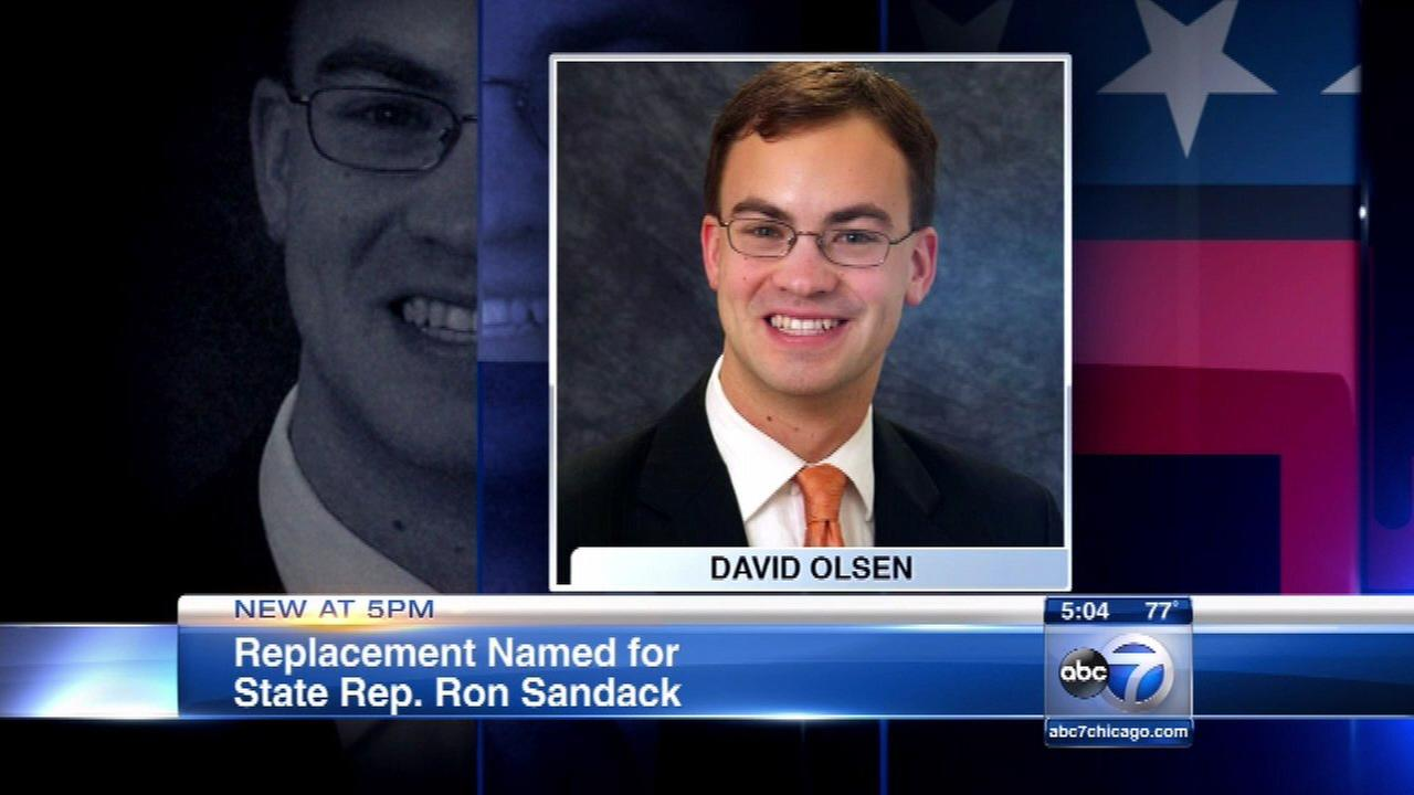 Replacement named for state Rep. Sandack seat