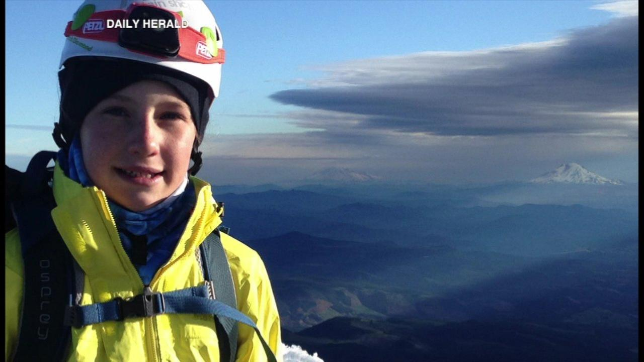 The Daily Herald shared photos of Lucy and her most recent climb on Kings Peak in Utah.