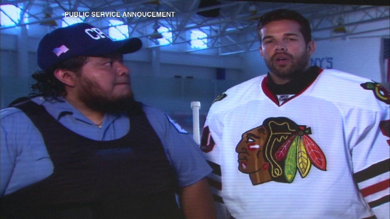 Blackhawks raise money for bullet-proof vests for cops