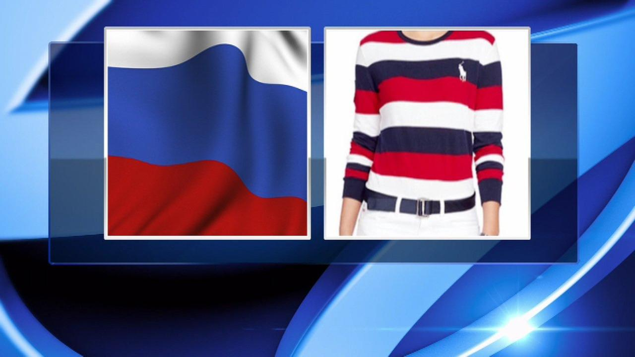 Team USA uniforms criticized for looking like Russian flag