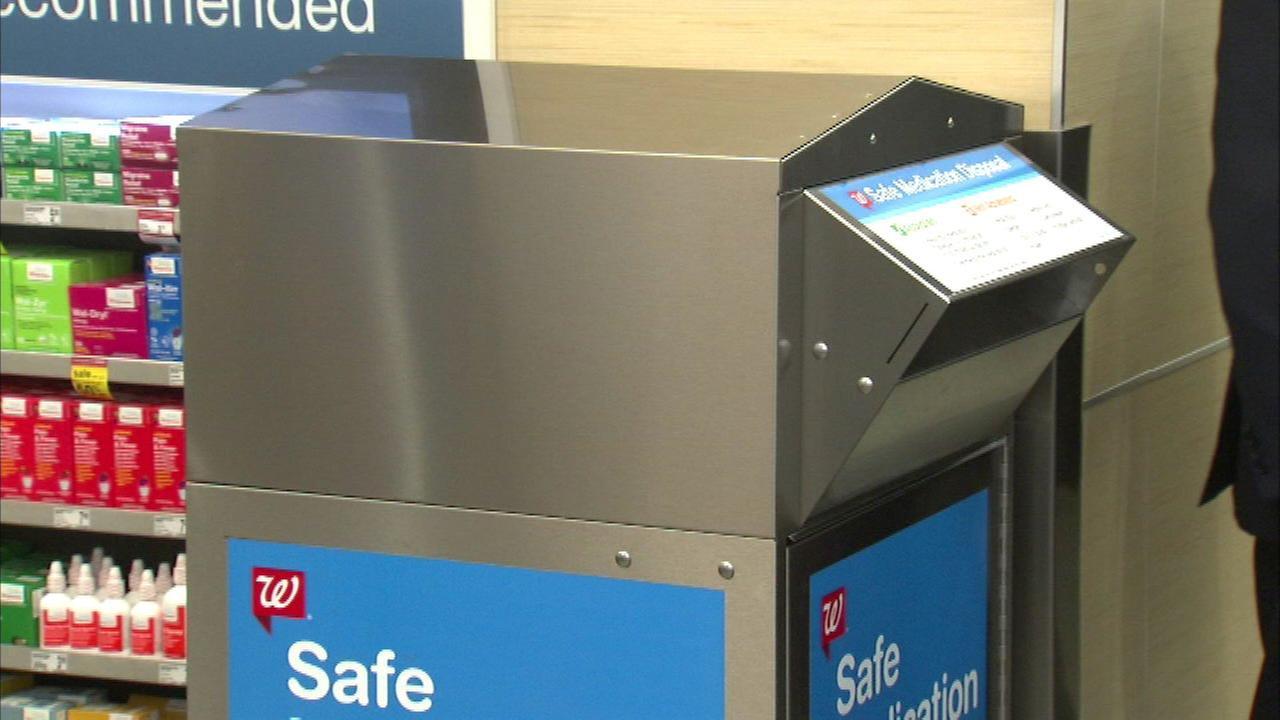 Walgreens offers disposal of unused medication