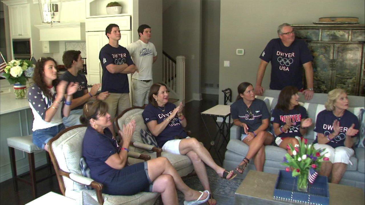 Local family cheers on Winnetka native Conor Dwyer in Rio