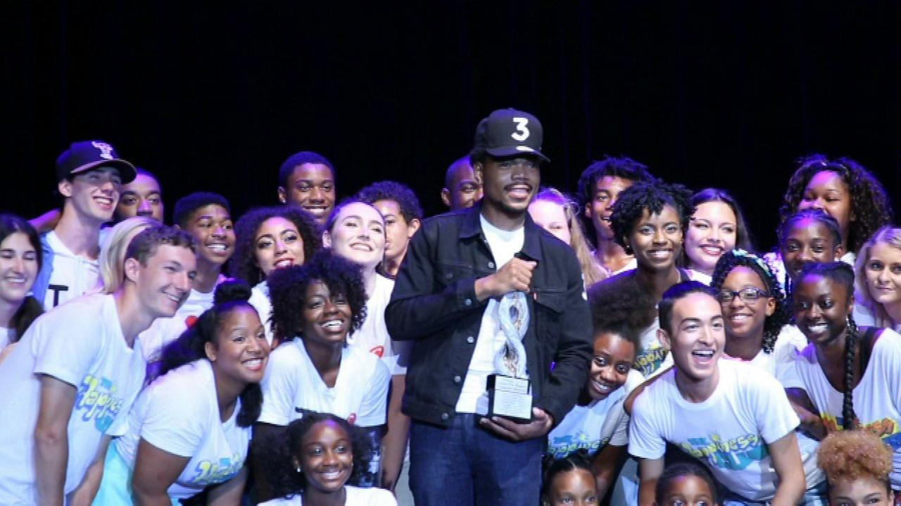 Chance the Rapper honored by youth group