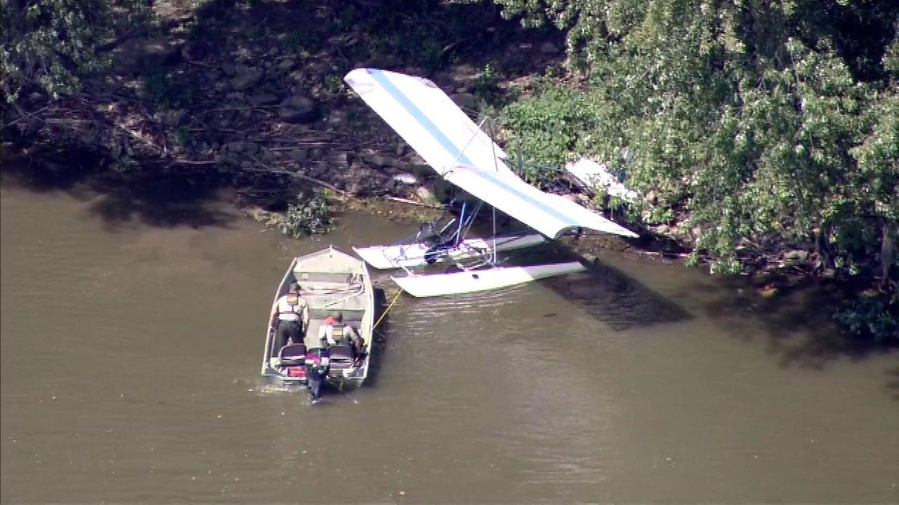 Small plane found floating in Illinois River at Starved Rock