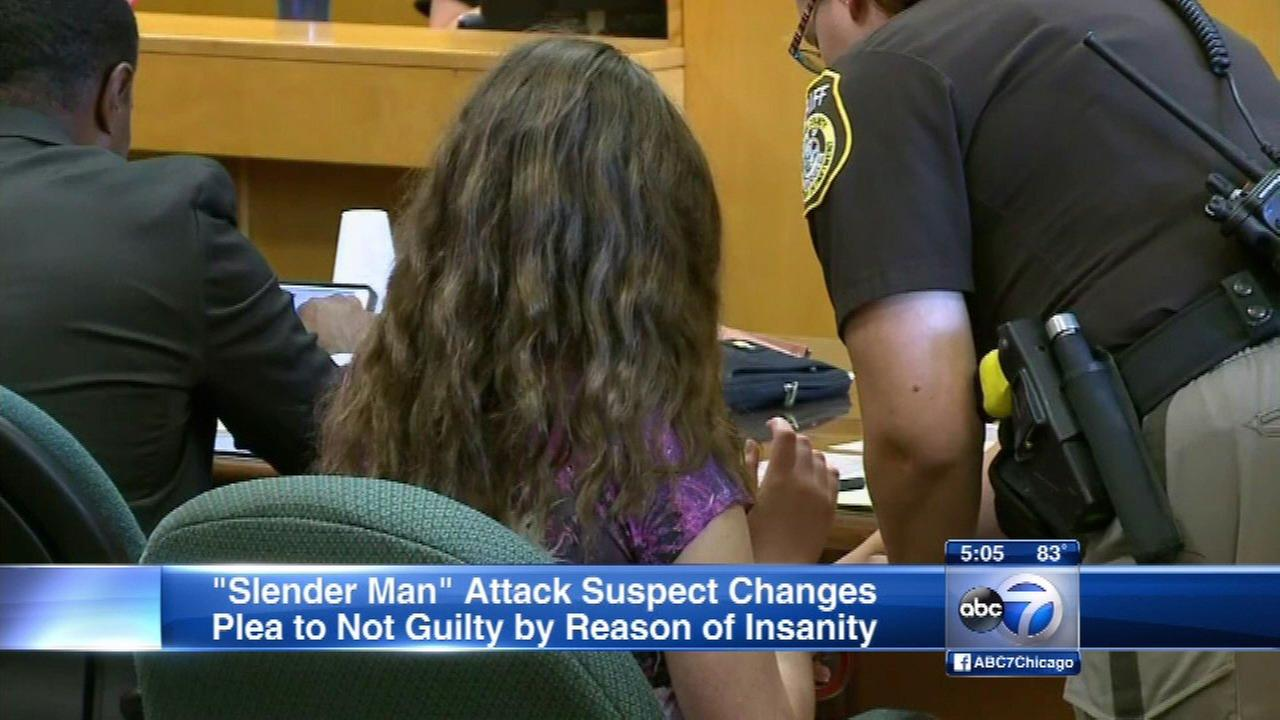 'Slender Man' attack suspect changes plea