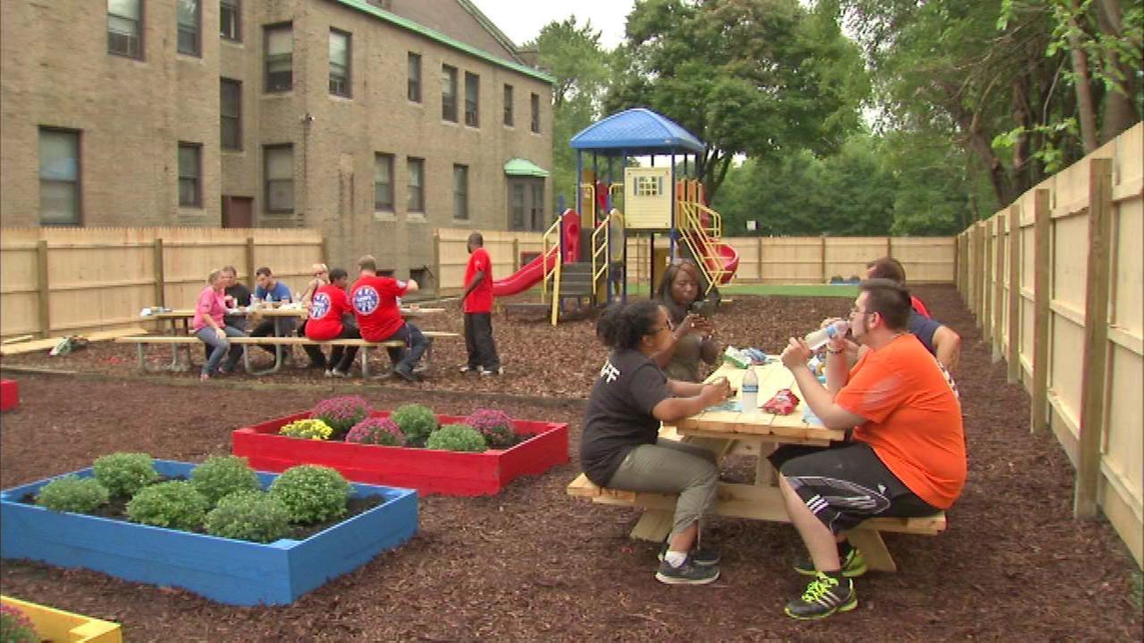 Clara\'s House homeless shelter gets improvements | abc7chicago.com