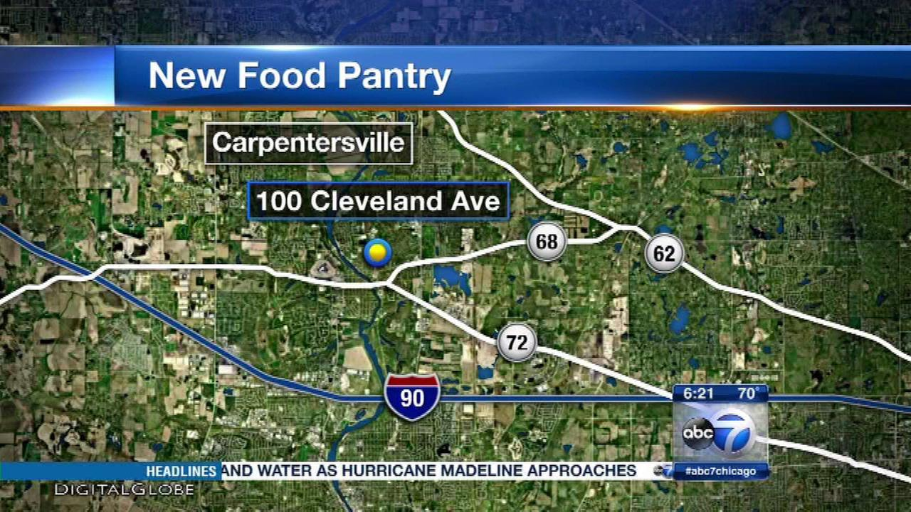 Kane County's 1st school-based food pantry opens Wednesday