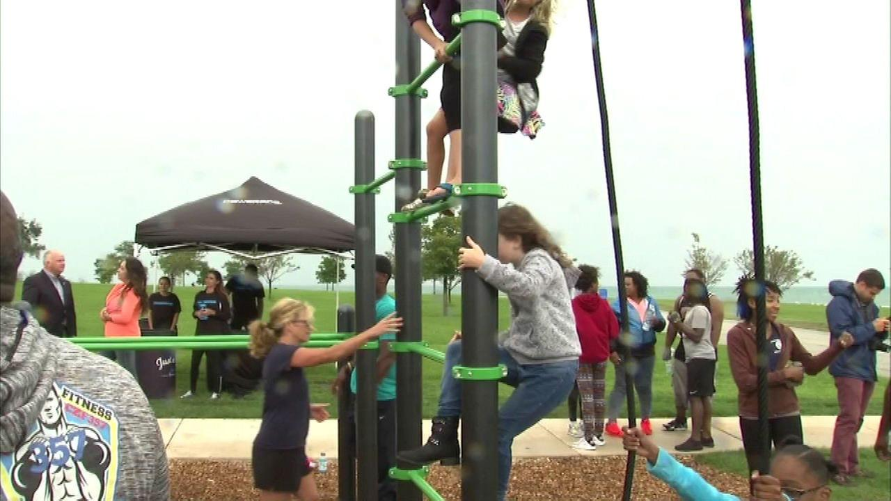New fitness station opens along lakefront
