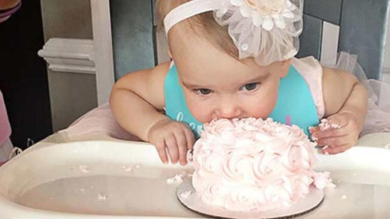 Baby Girl Born After 6 Boys Celebrates First Birthday