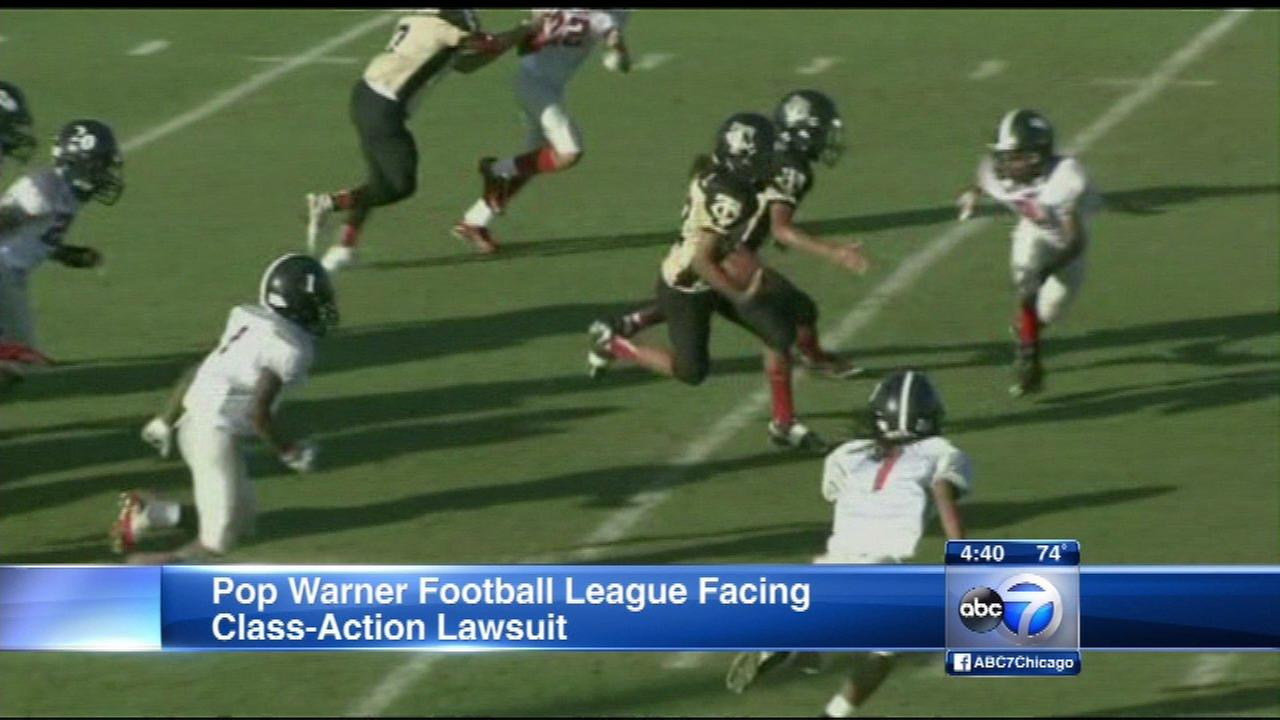 Pop Warner faces class-action law suit over concussions