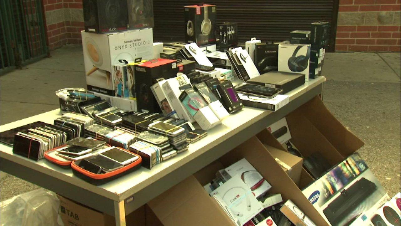 CPD recovers stolen electronics in fencing operation