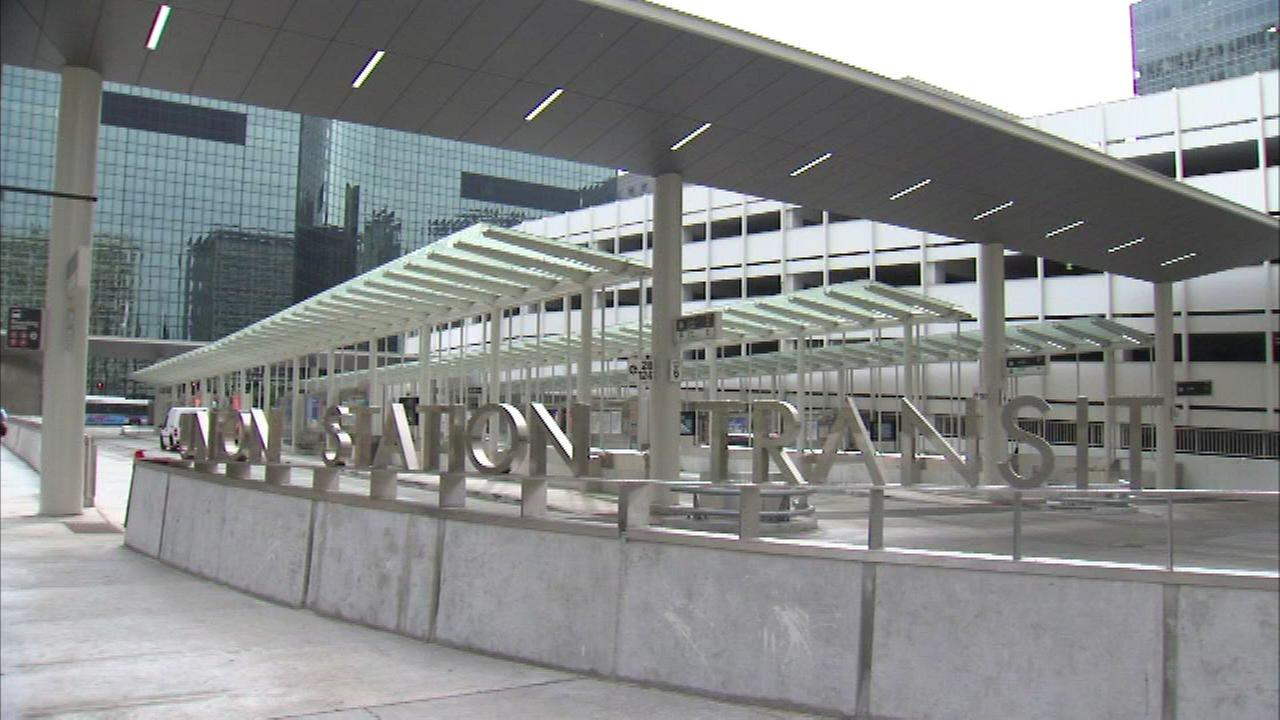 A CTA transit center located at Union Station.