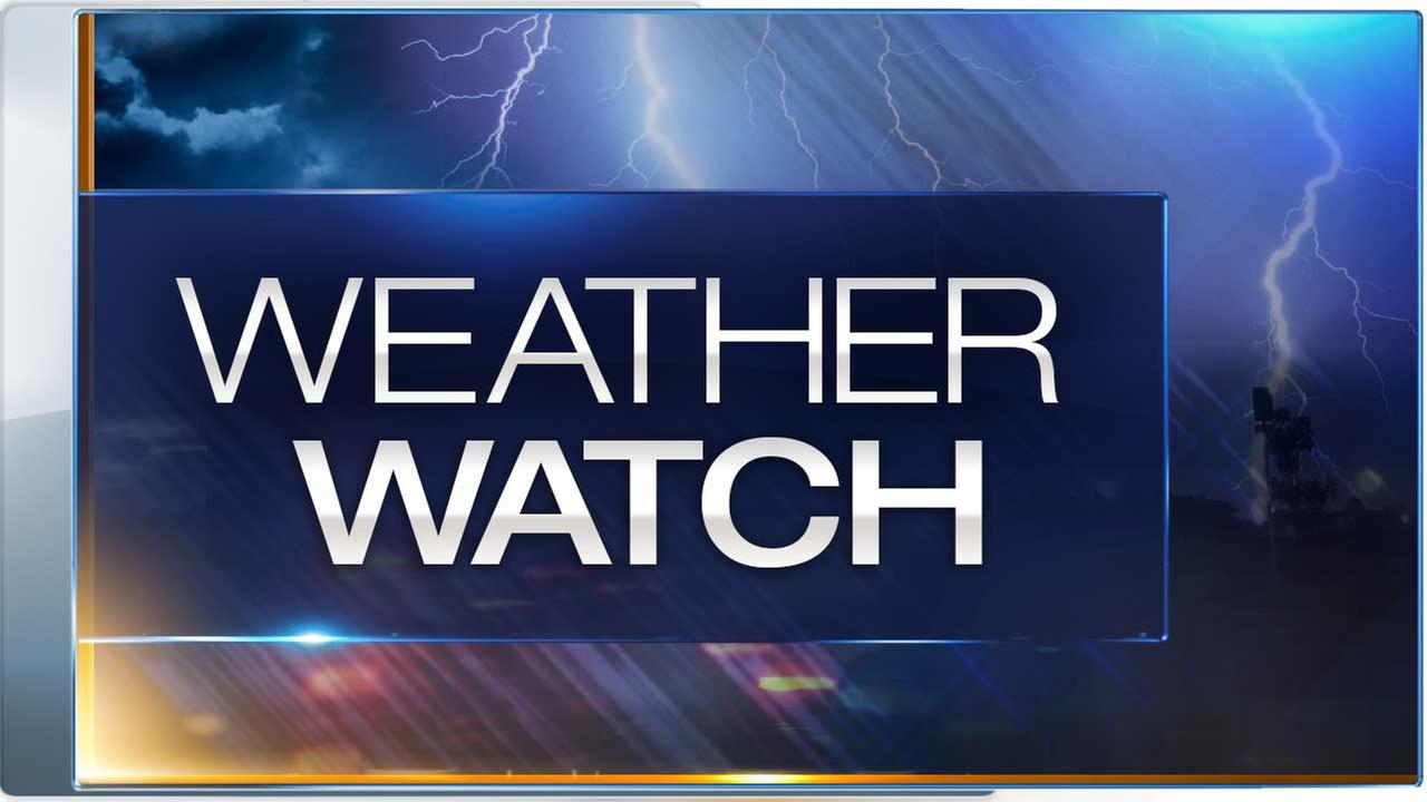 Tornado watch issued for several Chicago area counties