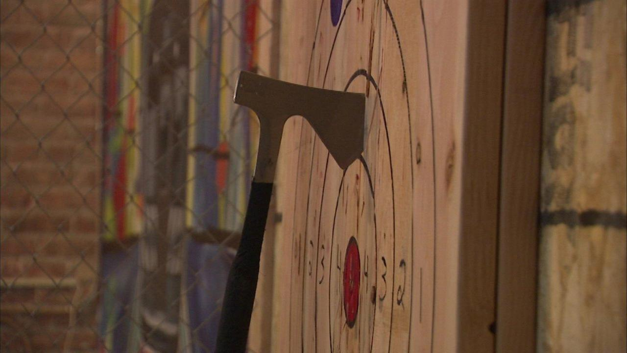 Indoor axe throwing facility opens in West Loop
