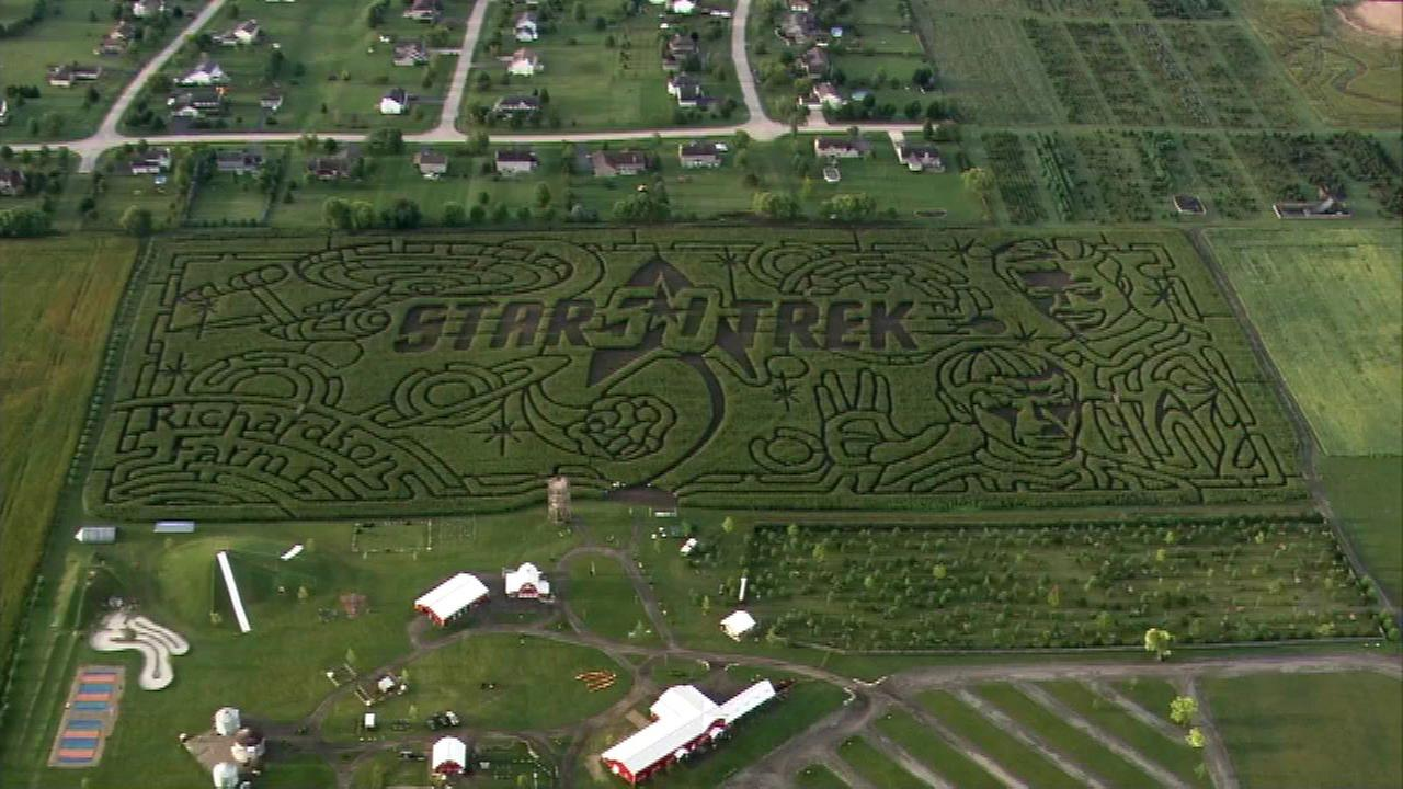 Spring Grove corn maze celebrates Star Trek 50th anniversary
