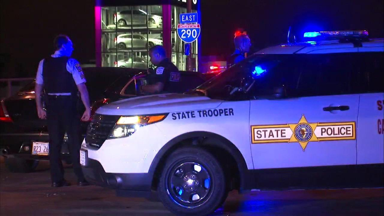 Carjacking suspect who died jumping off I-290 identified
