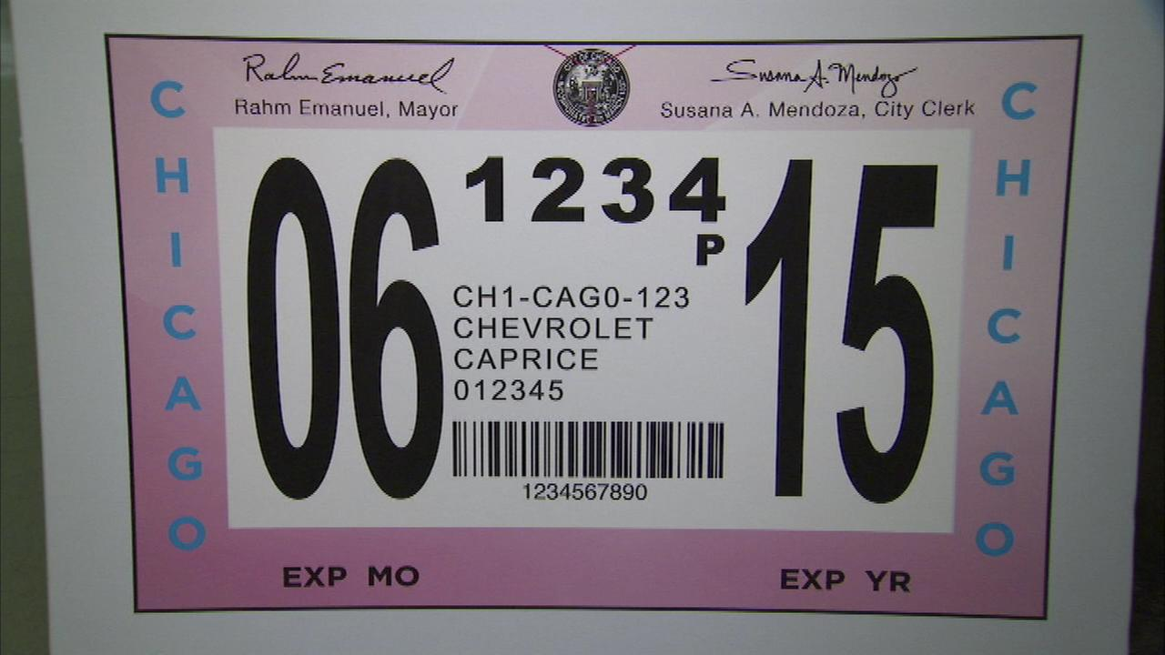 Late fees waived 1 day after city sticker purchase delays