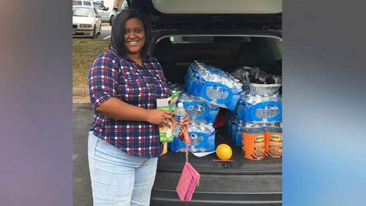 A young woman is setting out to deliver 30,000 meals to the hungry and homeless before her 30th birthday next year - and she wants to do it all with coupons.