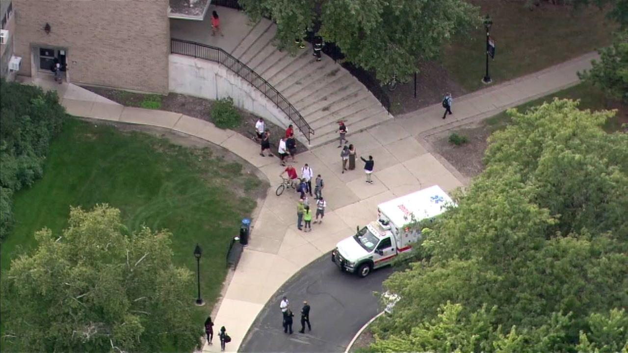CFD investigates chemical spill at Saint Xavier science lab