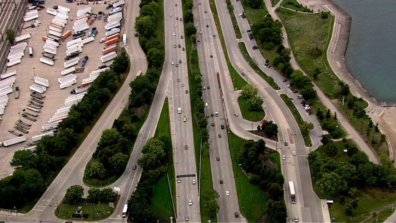 Lake Shore Drive partially closed over weekend for construction