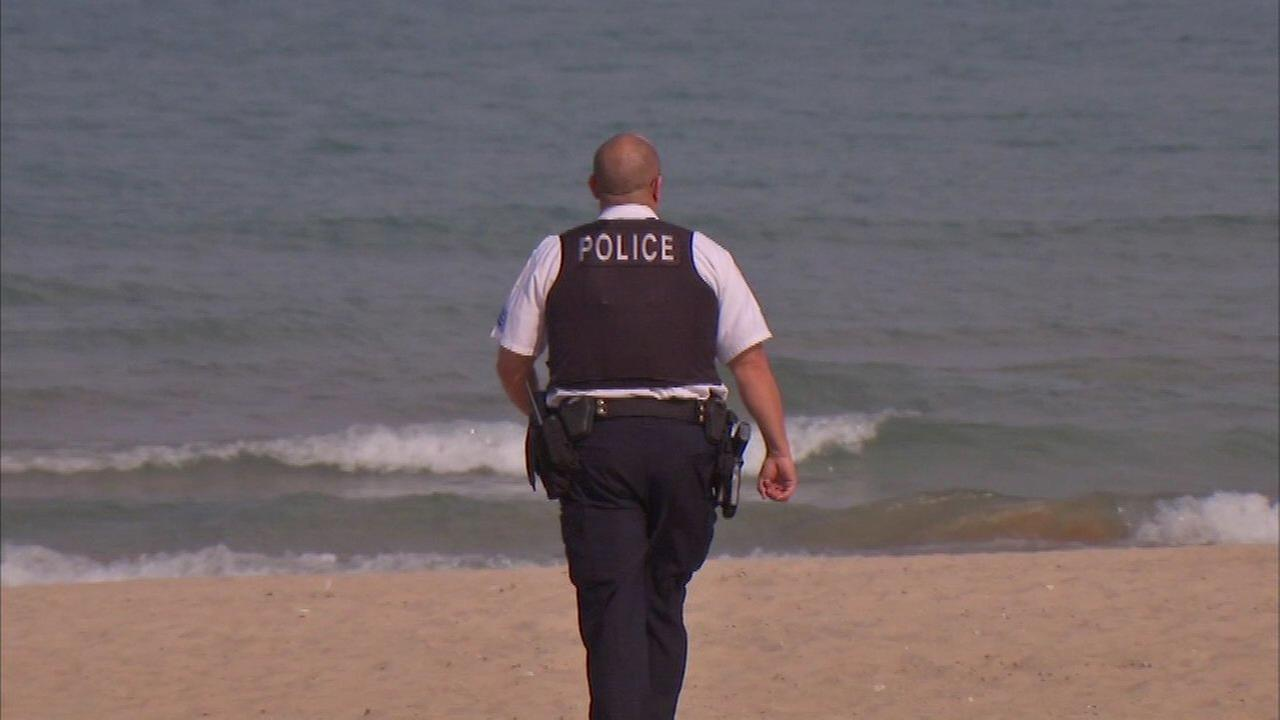 A man died Sunday after being rescued from Lake Michigan.