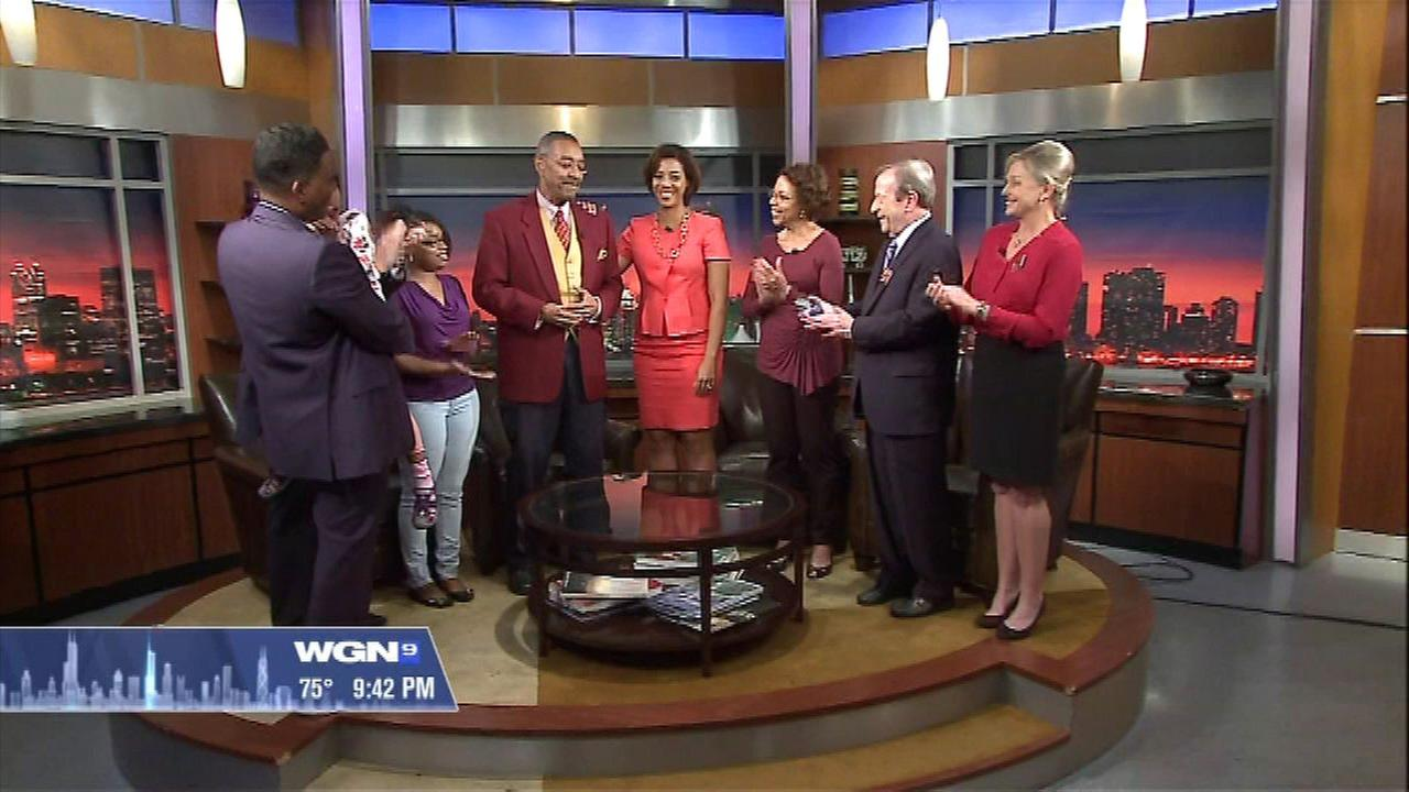 WGN's Bob Jordan anchors his last show