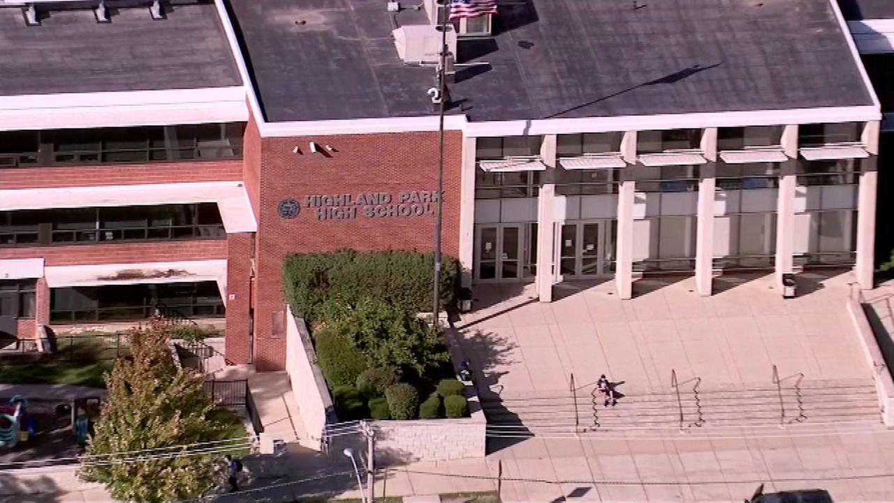 Lead found in water at Highland Park High School