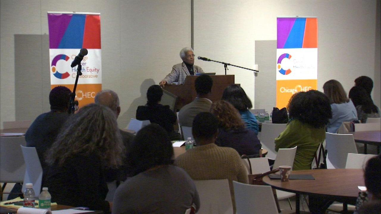 The Chicago Cancer Health Equity Collaborative held its first annual symposium on Thursday.