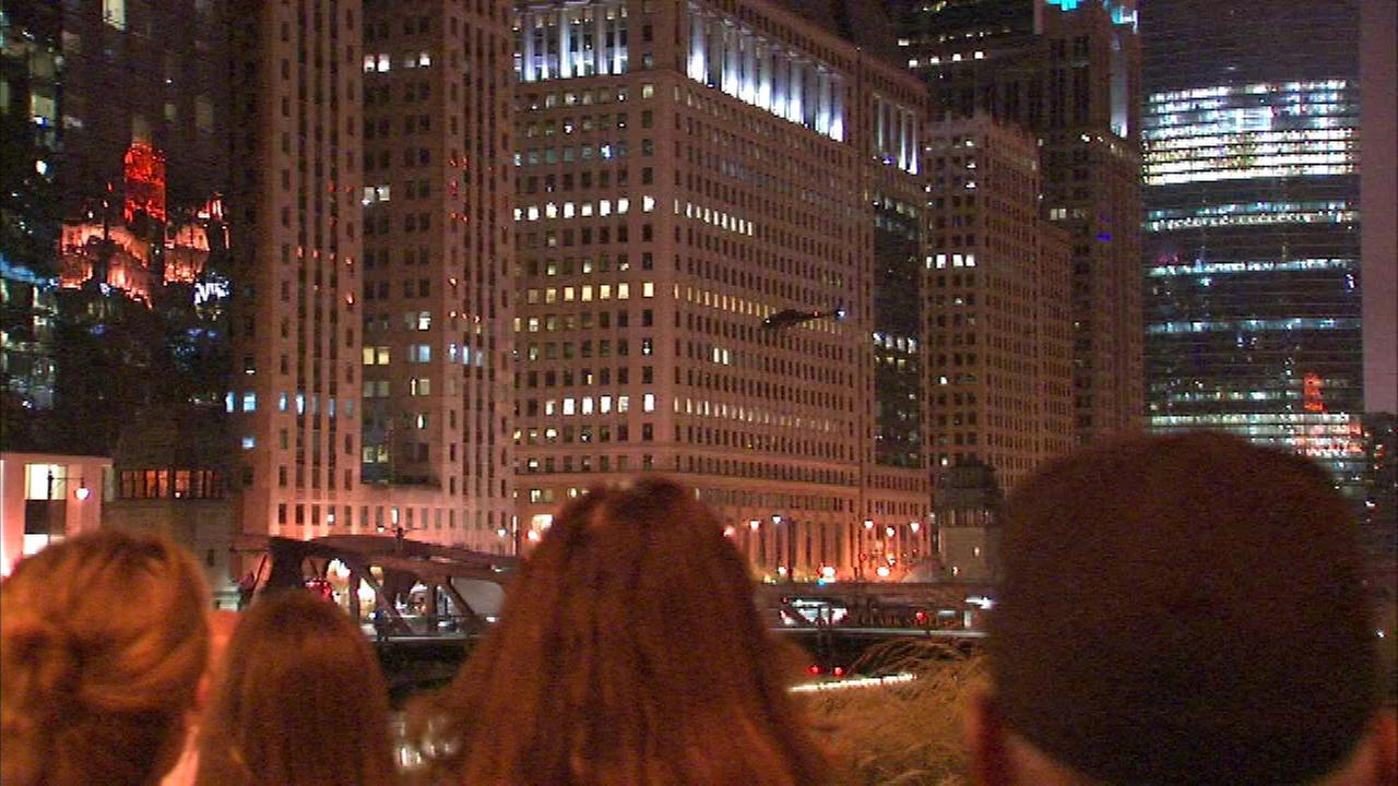 Chopper hovers over Loop for filming of 'Death Wish' remake