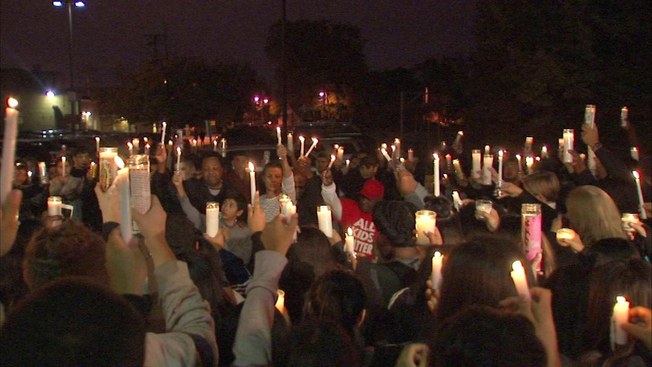 Teen fatally shot in Back of the Yards remembered at vigil