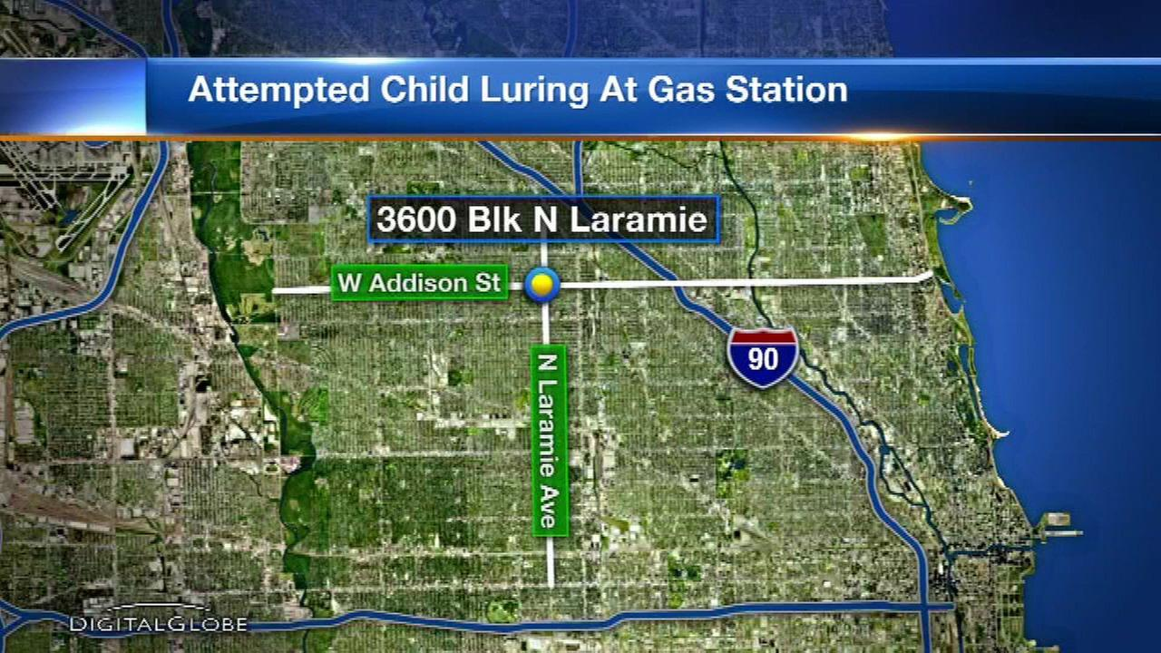 Police: Man attempted to lure 10-year-old boy into van outside Portage Park gas station
