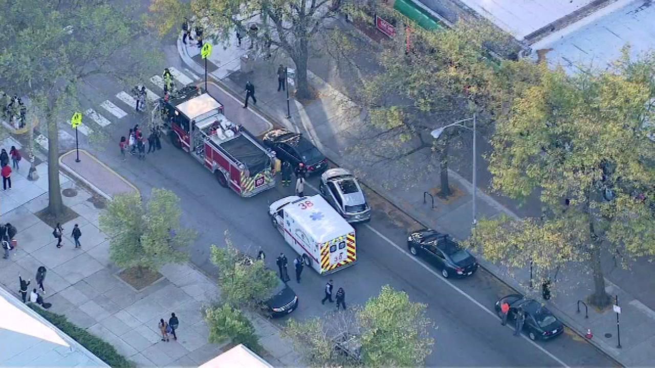 Officials: Pedestrian struck in Hyde Park