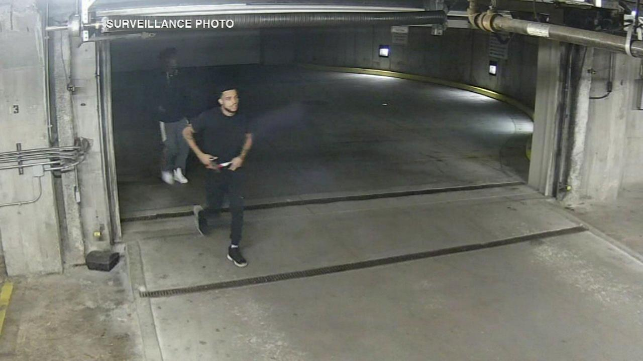 Police looking for 3 men after shots fired in garage of University Village condo complex