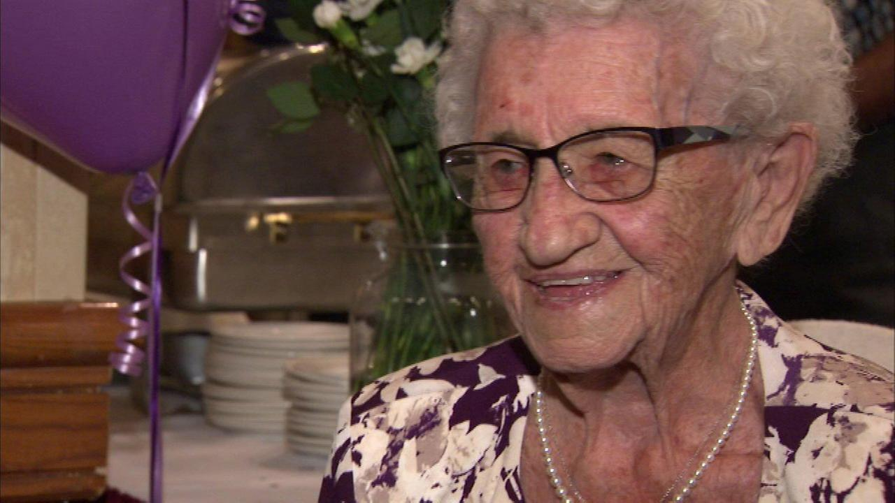 Louise Schaaf turned 110 on Sunday.