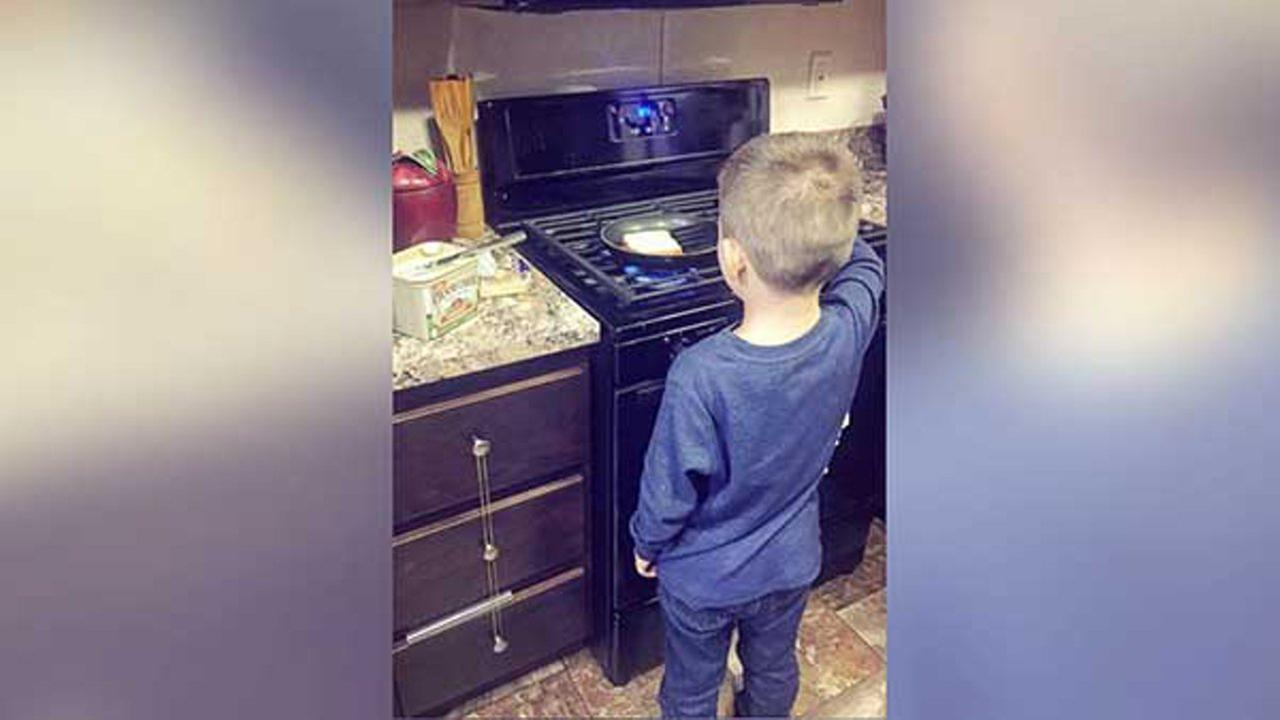 Reality TV star teaches 6-year-old son chores are not 'just for women'