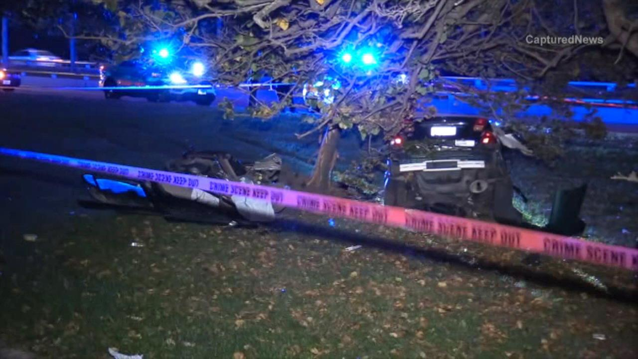 Man killed in crash on Lake Shore Drive