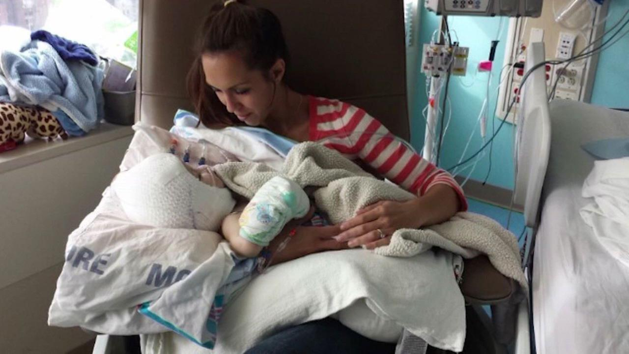 Nicole McDonald held her son Jadon alone for the first time in what she calls one of the most profound moments of my life.
