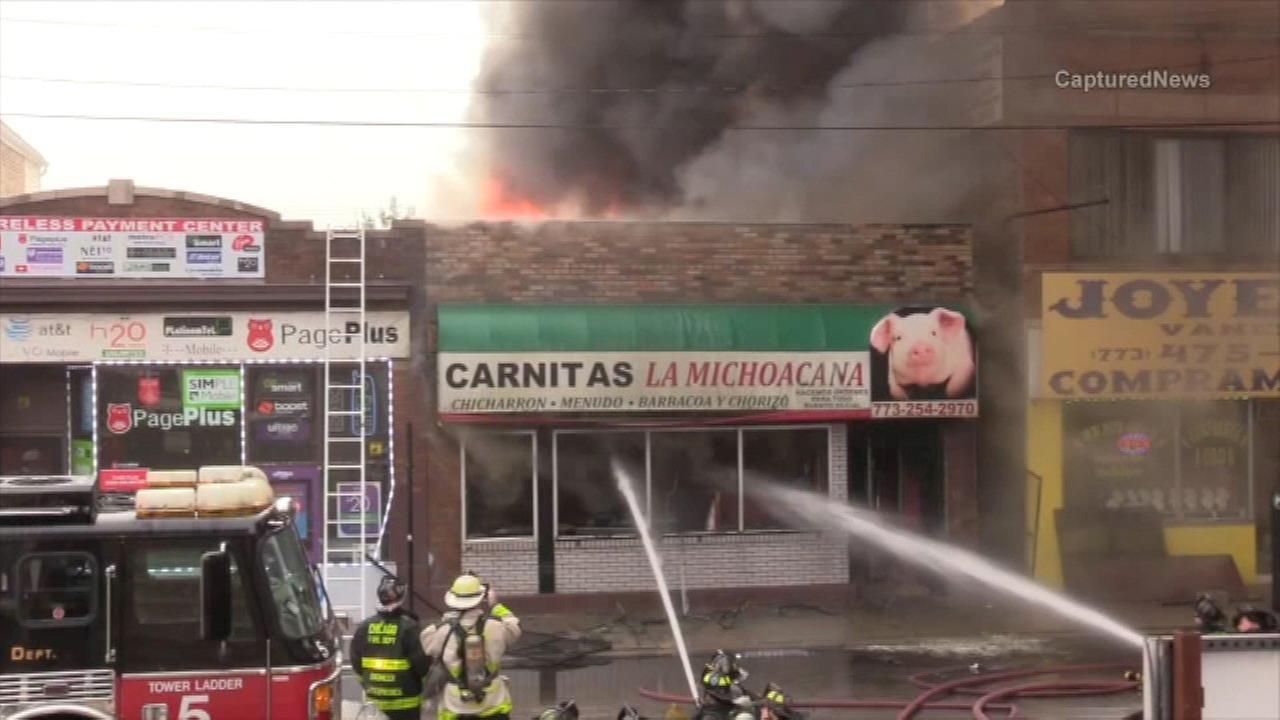 Fire destroys Pilsen restaurant