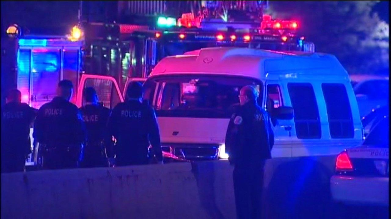 Driver shot in face on Lake Shore Drive near Grant Park