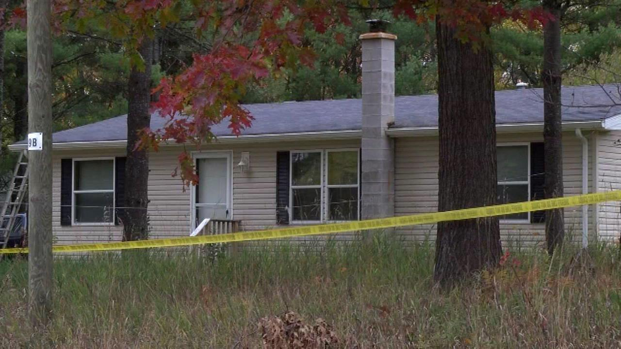 A man was arrested Saturday in connection with the killing his father, a 70-year-old Evanston man, in Michigan.