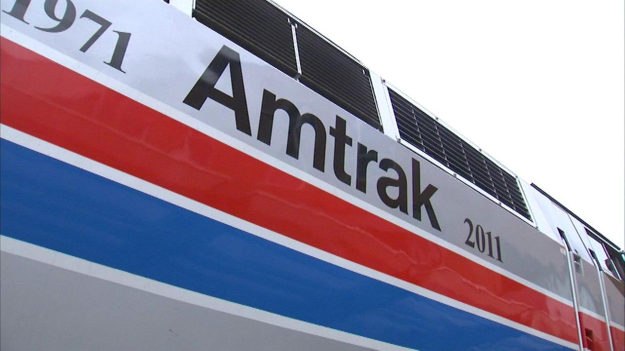 Dozens stuck after fire on Amtrak train from Milwaukee