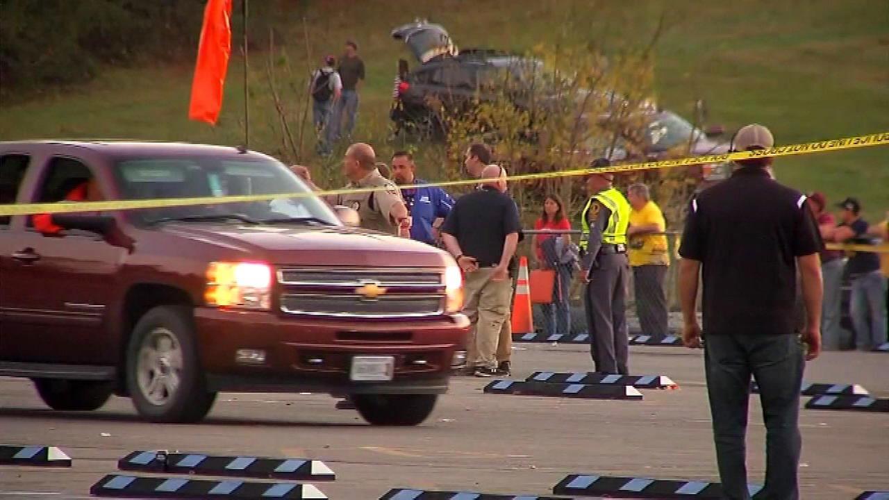 22 injured in parking lot at NASCAR race