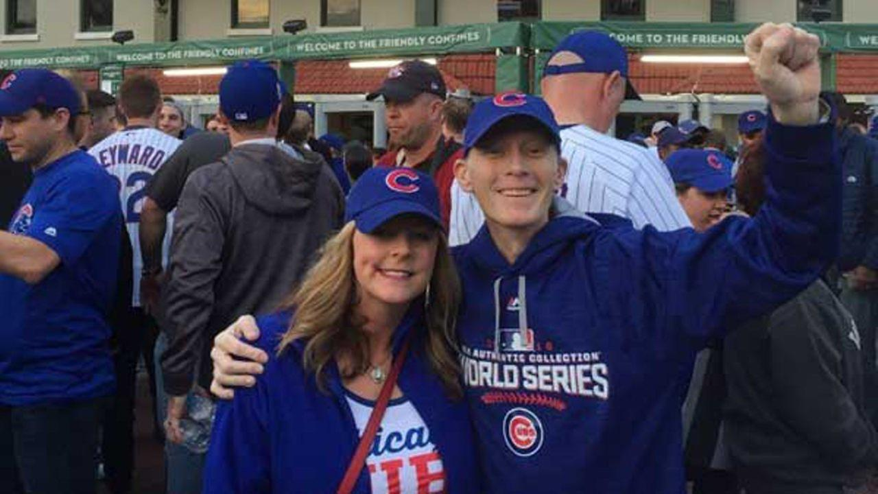 Like many Cubs fans, Blue Mhoon didnt know if hed ever see his favorite team play in the World Series.